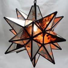 moravian pendant moravian pendant light antique mirrored glass 19