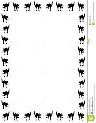 halloween border black and white clipart panda free clipart images