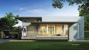 unique single story home designs modern single story house unique
