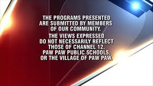 program disclaimer wpaw tv channel 12 youtube