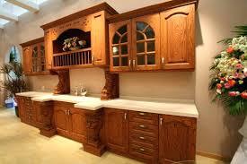 cherry stained oak cabinet u2013 sequimsewingcenter com