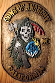 Sons Of Anarchy Meeting Table Sons Of Anarchy Clubhouse Table Sons Of Anarchy Wood Carving