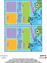 invitations monsters invitations free printable ideas