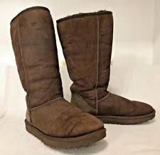 ugg womens amelia boots chocolate ugg australia boot andra chocolate brown leather 1005043