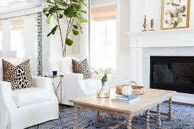 Wisteria Rugs White Living Room With Indigo Blue Rug Transitional Living Room