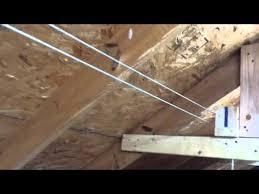 diy electric attic lift part 1 youtube