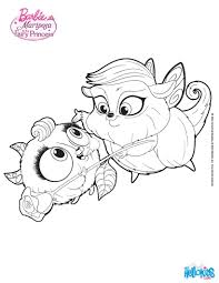 zee and anu cute pets coloring pages hellokids com