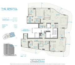 55 Harbour Square Floor Plans by The Bristol Floor Plans Luxury Waterfront Condos In West Palm Beach