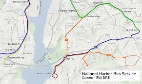 washington dc metro map national harbor metro proposes new wilson bridge service greater greater