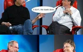 Bill Gates Steve Jobs Meme - hot smilegag