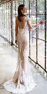 43 gorgeous tattoo effect wedding dresses for beautiful bride
