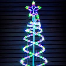 tree spiral tree led led lights