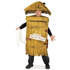 Funniest Mens Halloween Costumes Outhouse Toilet Funny Mens Halloween Costume 2010084