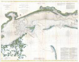 Sound Map File 1866 U S Coast Survey Chart Or Map Of The Mississippi Sound