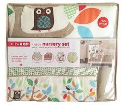 Skip Hop Crib Bedding Skip Hop 4 Bumper Free Nursery Set Treetop