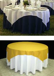 tablecloth for 72 round table how to choose the right table linen size for your wedding or event