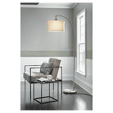 threshold arc floor lamp target living rooms and foyers