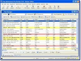 Maintenance Tracking Spreadsheet by Free Fleet Maintenance Pro Deluxe Fleet Maintenance Pro