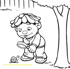 Sid The Science Kid Coloring Pages sid the science kid coloring pages with the science kid coloring