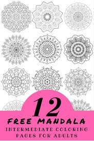 170 best mandalas images on pinterest coloring coloring