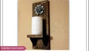 Wooden Wall Sconce Diy String Art Wall Decor