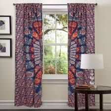 amazon window drapes living room bohemian window valance bohemian curtains amazon