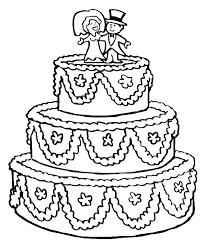 princess wedding cake coloring pages 4022 wedding cake coloring