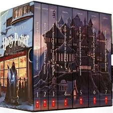 officially licensed harry potter paperback box books 1 7