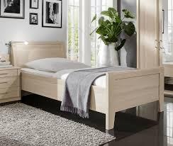Schlafzimmer Komplett 140 Cm Bett Komplett Schlafzimmer Für Senioren Mit Einzelbett Montego