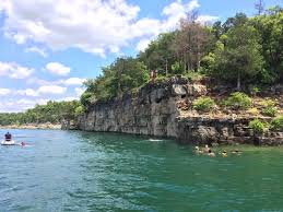 Table Rock Mo by Table Rock Lake Cliff Jumping Branson Mo 2015 Hiking Biking