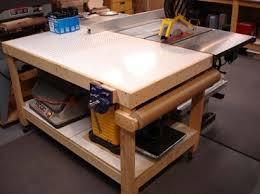 Best Woodworking Images On Pinterest Woodwork Workshop - Downdraft table design