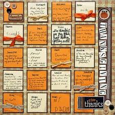 38 best thanksgiving layouts images on scrapbooking