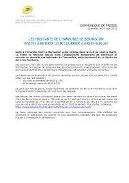 bureau de poste ouvert la nuit 2015 08 20 cp la poste savoie courrier des habitants du bernascon