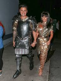 pauly d and aubrey o u0027day the best celebrity halloween costumes