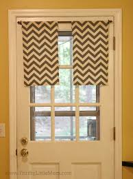 easy sew kitchen cafe curtains thrifty little mom