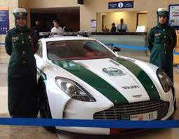 police ferrari dubai police enlist aston martin one 77 supercar