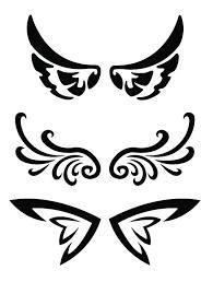 resultado de imagen para simple wings tatuagem