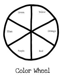 brilliant beginnings preschool w is for wheel color wheel