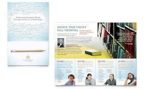 academic tutor u0026 flyer u0026 ad template word u0026 publisher
