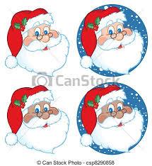 santa claus classic santa claus collection vector search clip