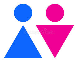 Male Female Bathroom Signs by Simply Printable Cuttable Male Female Restroom Signs Stock