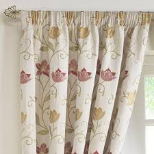buy rectella canterbury autumn lined pencil pleat tapestry