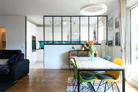 peinture cuisine blanche cuisine blanche turquoise style industrielle eclectique salle a