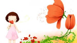wallpaper cute cartoon flowers cute 642