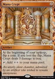 mana crypt masterpiece series kaladesh inventions magic the