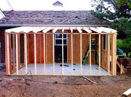 How To Build A Floor For A House How To Build A Storage Shed Attached To Your Home Jim Cardon Customs