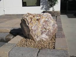 Copper Rose Boulder Decorative Rocks For Landscaping Backyard