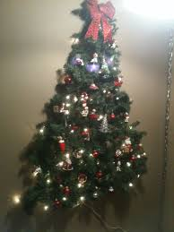 Christmas Decorations 2017 Kid Friendly Christmas Tree On The Wall Command Strip Hooks And
