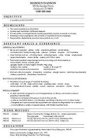 Machinist Sample Resume by 15 Best Resumes U0026 Career Inspirations Images On Pinterest Career
