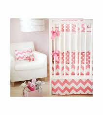 Zig Zag Crib Bedding Set New Arrivals Zig Zag Pink 2 Baby Crib Bedding Set
